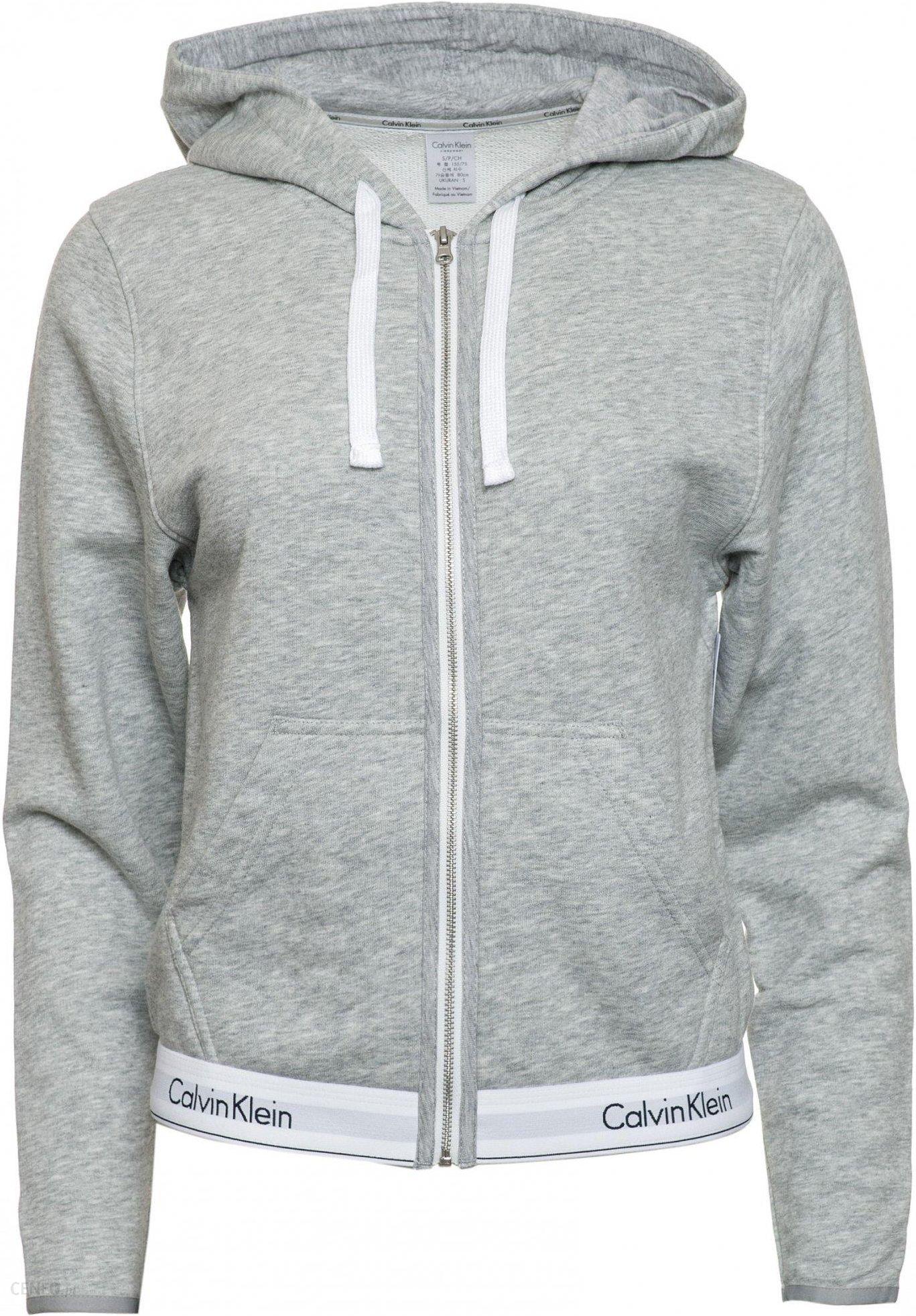 c07e3c1b150 Calvin Klein bluza damska XS szary - Ceny i opinie - Ceneo.pl