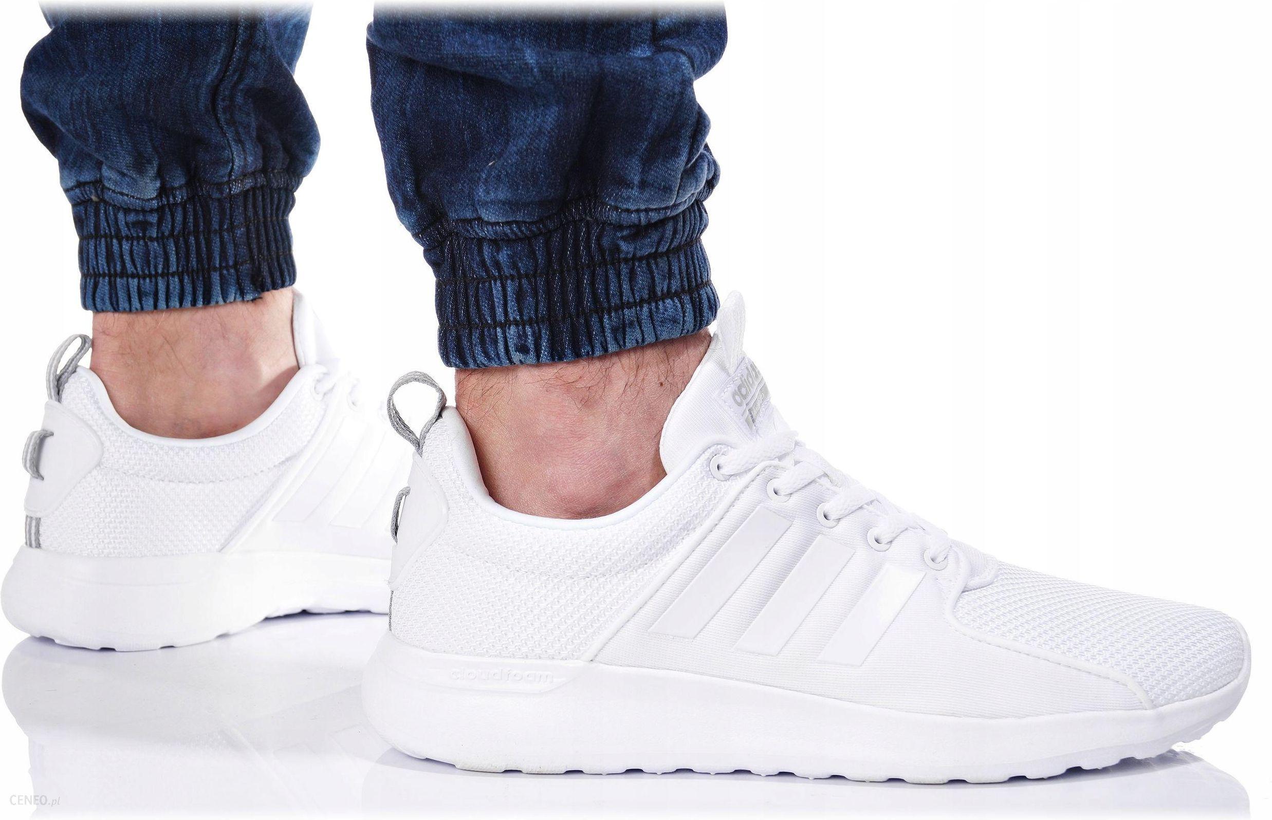 Buty Adidas Męskie Cloudfoam Lite AW4262 Białe Ceny i opinie Ceneo.pl
