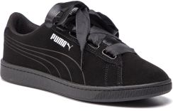 cf3b64686b02c Sneakersy PUMA - Vikky V2 Ribbon S 369726 01 Puma Black/Puma Black/Silver  eobuwie