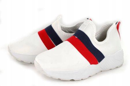 Sneakersy damskie białe Trussardi 79A00236 37 Ceny i opinie Ceneo.pl