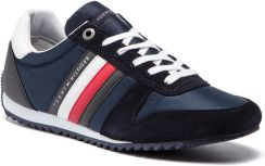 b295a6f99f94e Sneakersy TOMMY HILFIGER - Essential Nylon Runner FM0FM02024 Midnight 403  eobuwie
