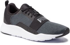 f7fb386b Buty PUMA - Wired Knit Puma Black/Dark Shadow eobuwie