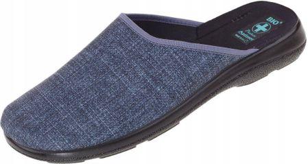 5c6a7a840d543 Pantofle klapki odkryte Polskie Bio Adanex 43 - Ceny i opinie - Ceneo.pl