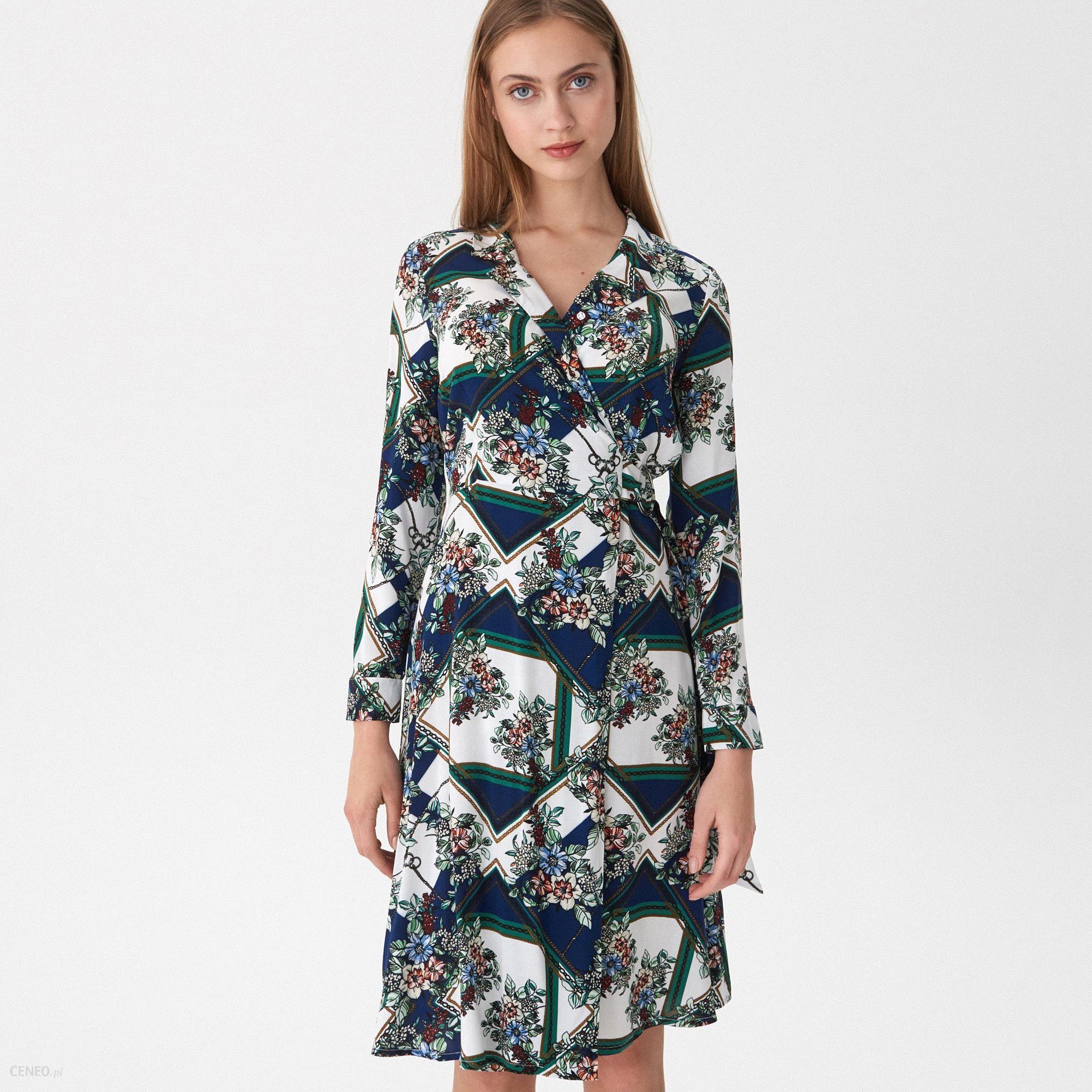 e09f508612 House - Wzorzysta sukienka - Wielobarwn - Ceny i opinie - Ceneo.pl