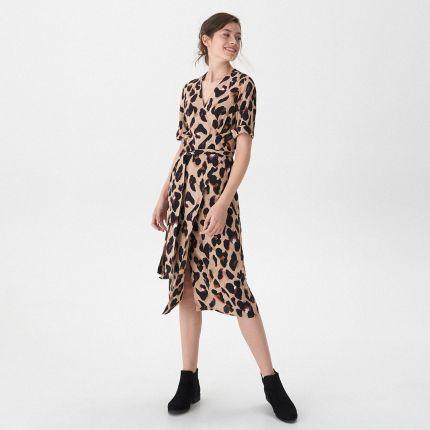 ab137829ab House - Sukienka z motywem zwierzęcym - Wielobarwn ...