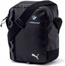 Torby Saszetki Puma BMW M MSP PORTABLE Torby i torebki męskie czarne w Spartoo