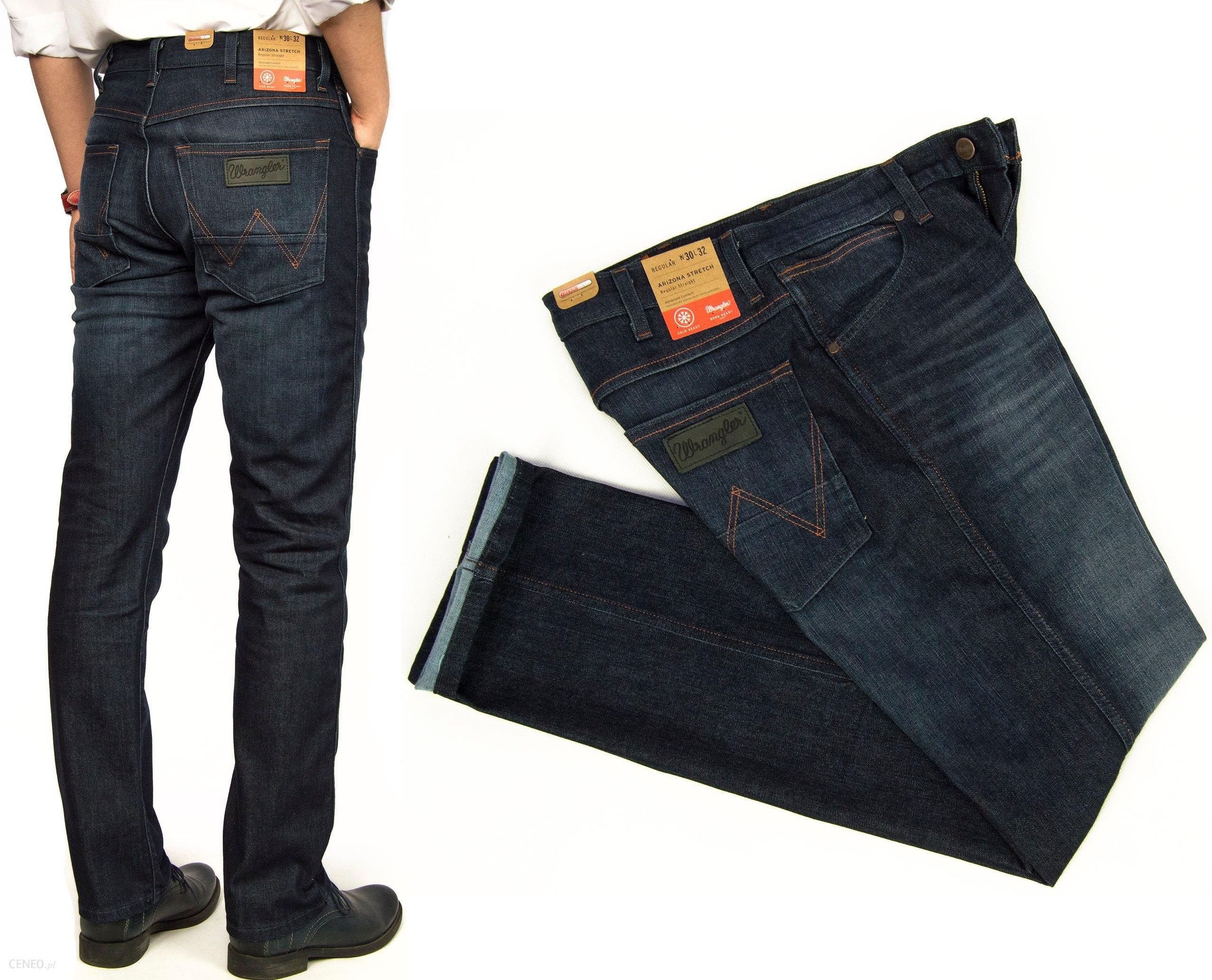 e870265b42d17b Wrangler Arizona Warm D. spodnie jeans Men W31 L34 - Ceny i opinie ...