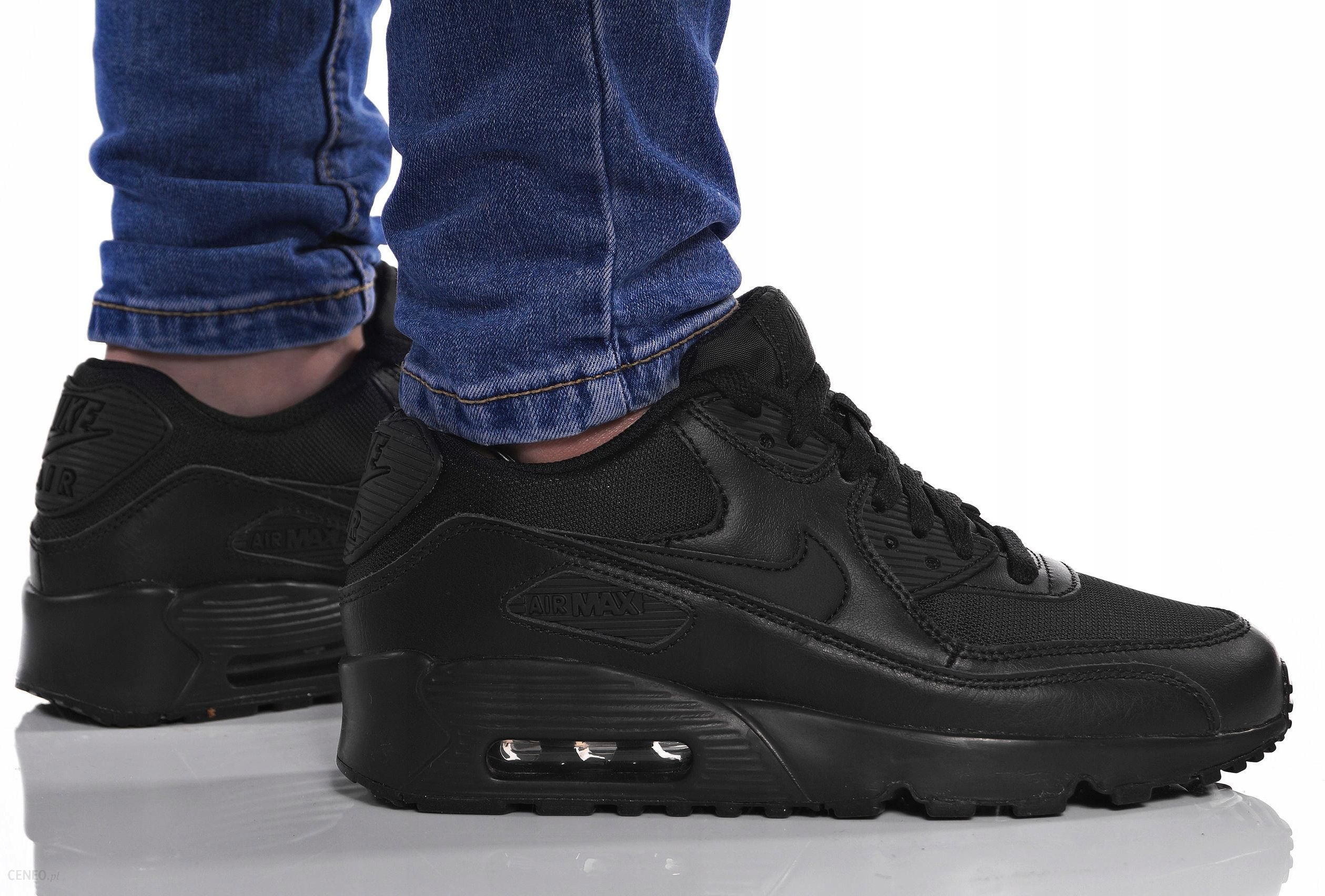Buty Nike Air Max 90 Mesh (GS) Black (833418 001) Ceny i opinie Ceneo.pl