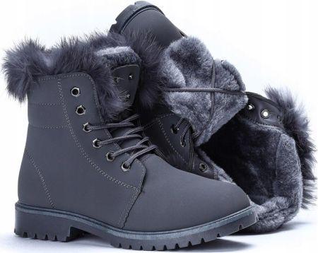 81da0ac1 Obuwie damskie zimowe buty modne wygodne skórzane polskie Oleksy granat 2139  - Ceny i opinie - Ceneo.pl