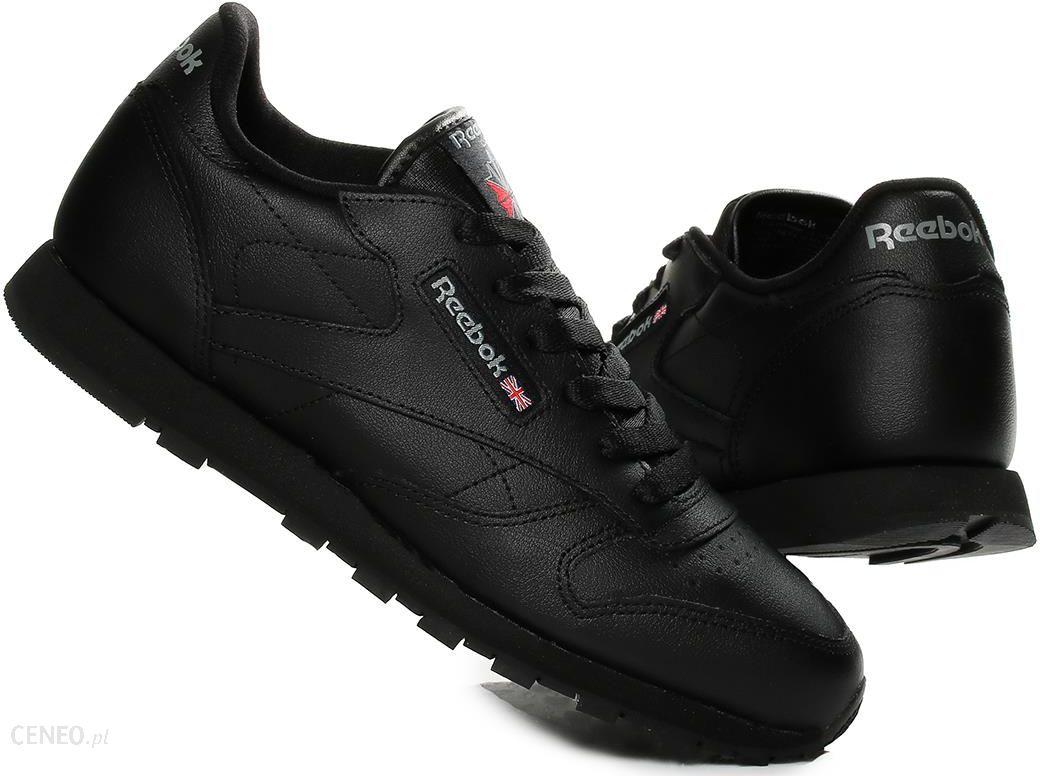 Reebok Classic Leather 50149 Buty damskie Czarne Ceny i opinie Ceneo.pl
