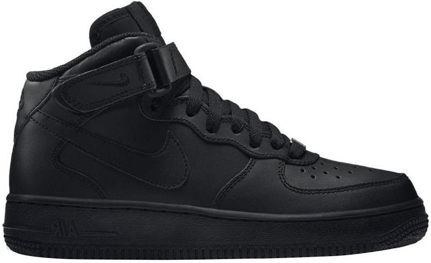 Buty Nike Air Force 1 Mid 314195 004 Czarne Zdjęcie na imgED