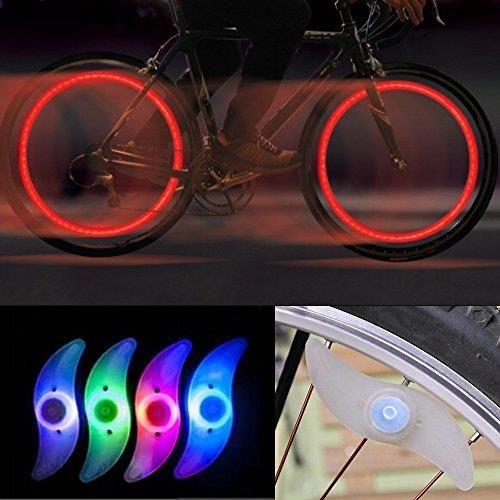 Amazon 2 X Rower Led Szprychy Oświetlenie Lampy Kierunkowskaz Spoke Mehrfahrbig Różne Tryby Ceneopl