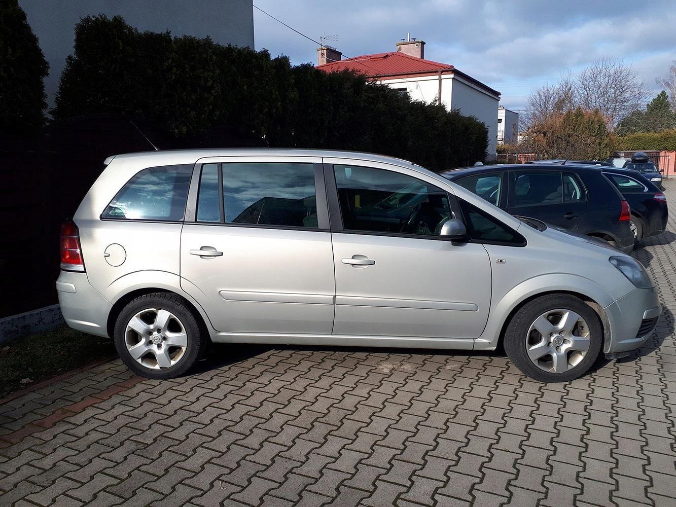 Niesamowite Opel zafira 2007 1,9 CDTI 7 - osobowy MINIVAN - Opinie i ceny na EV58