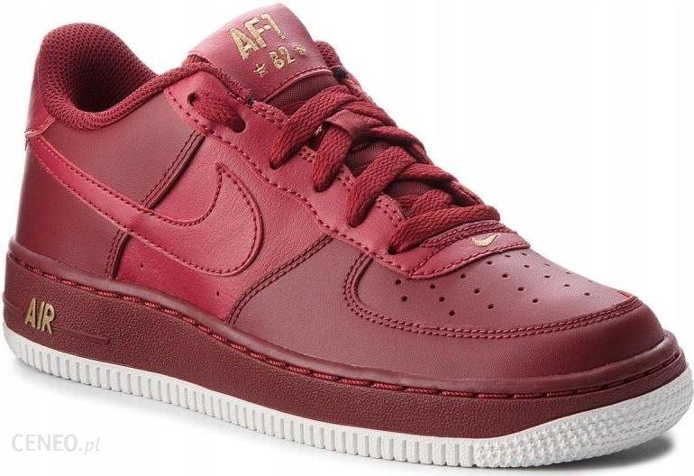 39 Buty Nike Air Force 1 Gs 314192 613 Bordowe Ceny i