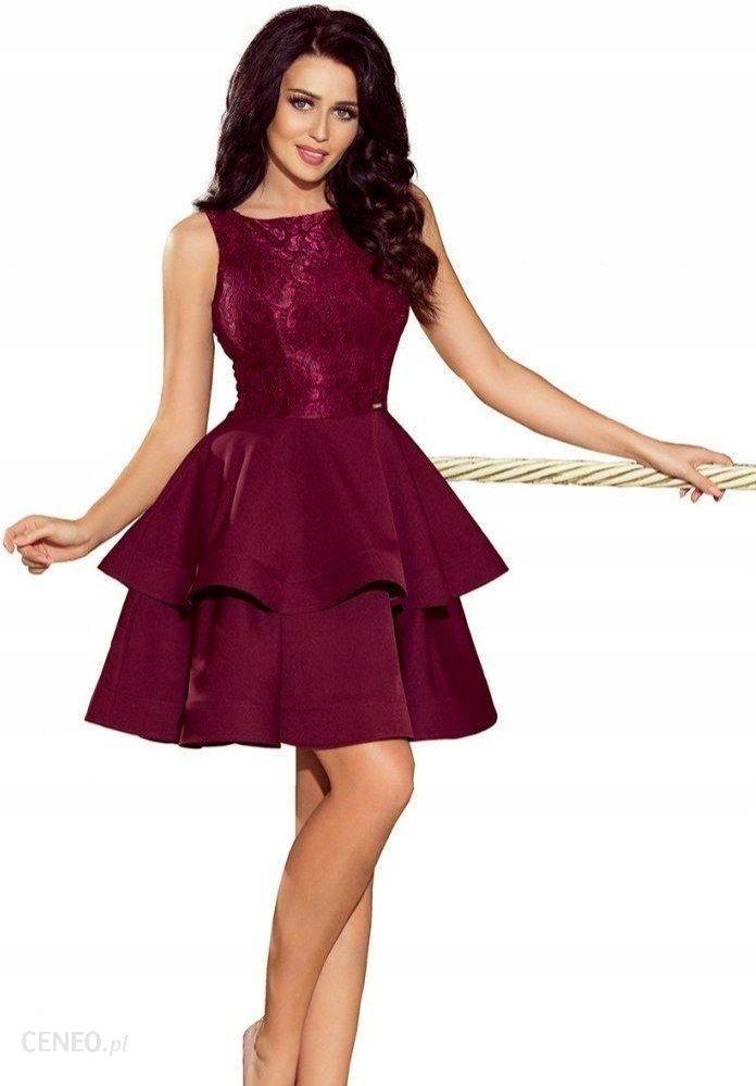 2a0719c4fd Wieczorowa rozkloszowana sukienka bal 205-2 XL 42 - Ceny i opinie ...