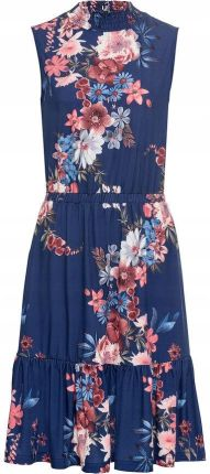 2dbc510a83 Wallis Petite FLUORO FLORAL Sukienka z dżerseju black - Ceny i ...