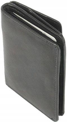 2660c455d9861 Klasyczny skórzany portfel męski Nobelle Czarny - Ceny i opinie ...