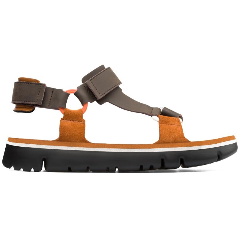 Camper ORUGA, Sandalen Damen, Orange , 39 (EU