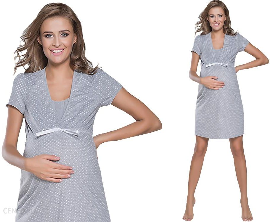 Italian Fashion Radość koszula nocna ciążowa r XL Ceny i  t5FoH