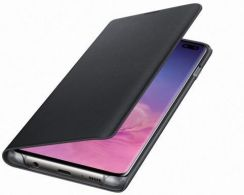 Samsung LED Cover do Galaxy S10 Plus Czarny (EF-NG975PBEGWW)