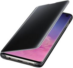 Samsung Clear View Cover do Galaxy S10 Czarny (EF-ZG973CBEGWW)
