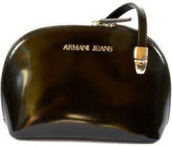 a5ff27e0072bd Elegancka półokrągła torebka czarna Armani Jeans pikopako - Ceny i ...