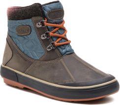 498e6c858722d9 Śniegowce KEEN - Elsa II Ankle Quilted Wp 1019637 Steel Grey/Dark Slate  eobuwie