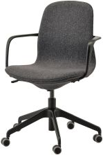 Ikea Langfjall Krzesło Obrotowe Gunnared Ciemnoszary Czarny 59177902 Opinie i atrakcyjne ceny na Ceneo.pl