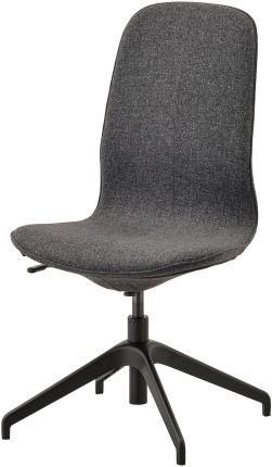 Ikea Langfjall Krzesło Obrotowe Gunnared Ciemnoszary Czarny 99175067 Opinie i atrakcyjne ceny na Ceneo.pl