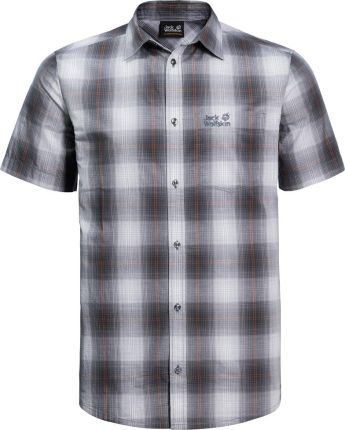 af895d149364 Koszulka HOT CHILI SHIRT M pebble grey checks - M. Koszula męska ...