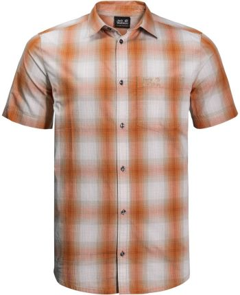 73fe2081f5fe Koszulka HOT CHILI SHIRT M desert orange checks - S. Koszula męska ...