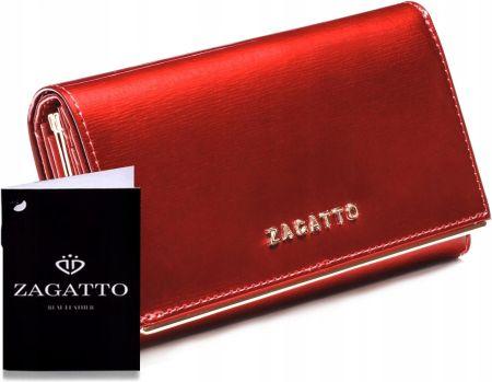 bdb8b7dff7005 Mały portfel Zagatto ZG-5198-SC RFID czarny - Ceny i opinie - Ceneo.pl
