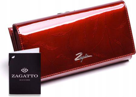62236ce77c04c Podobne produkty do PIERRE CARDIN damski portfel skóra lakierowana - prawie  organizer. Duży portfel damski skórzany Zagatto ...