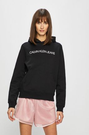 88cbc1ac0 Calvin Klein Jeans HAQI Bluza ck black - Ceny i opinie - Ceneo.pl