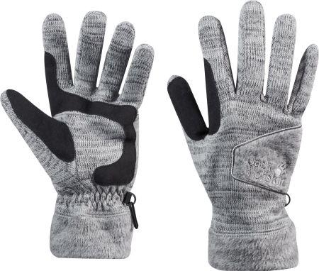 08070eaf54fc0 Mohito - Pikowane rękawiczki z dodatkiem wełny - Szary - damska ...