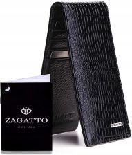 64a472e6238b9 Zagatto Skórzane etui na karty Rfid pudełko Slim - Ceny i opinie ...