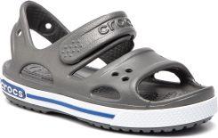 11f6a010 Sandały CROCS - Crocband Ii Sandal Ps 14854 Slate Grey/Blue Jean eobuwie