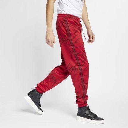 d01f098bb00907 Męskie spodnie z grafiką Jordan Jumpman Tricot - Czerwony ...