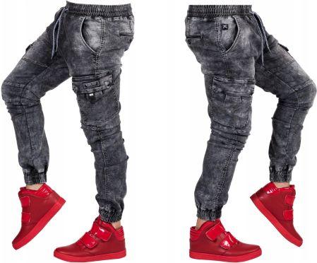 Wrangler Spencer Spodnie Męskie Jeansowe _ W34 L32 Ceny i