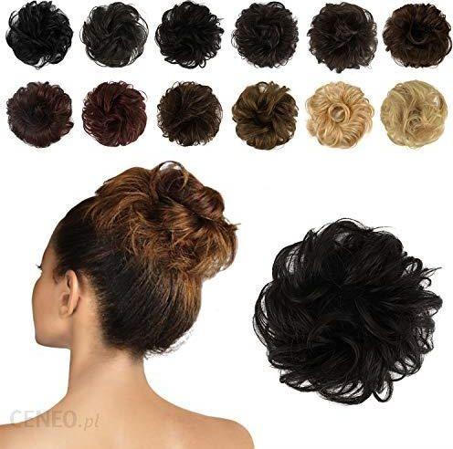Amazon Feshfen Gumki Do Włosówextensionen Do Włosów Węzły I Wysoko Upiętych Fryzur Kręcone Włosy Zerzauste Części Dla Pań Donut Włosów Dutts Ze 10