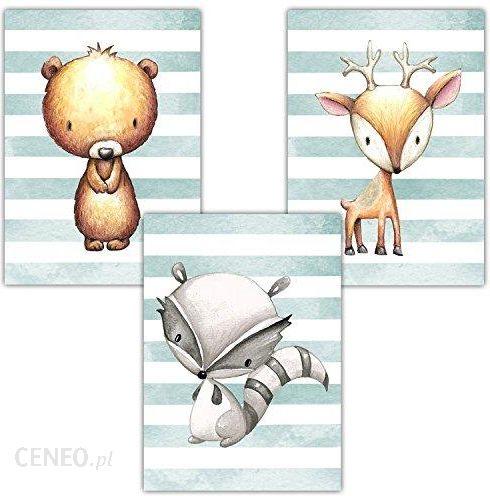 Amazon Frechdax 3 Częściowy Zestaw Do Pokoju Dziecięcego Plakat Pokój Dziecięcy Obrazy Din A4 Dziewczęca Młodzieżowa Dekoracja Pokój Dziecięcy Zwie