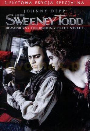 Sweeney Todd: Demoniczny Golibroda z Fleet Street (Sweeney Todd: The Demon Barber of Fleet Street) (2DVD)