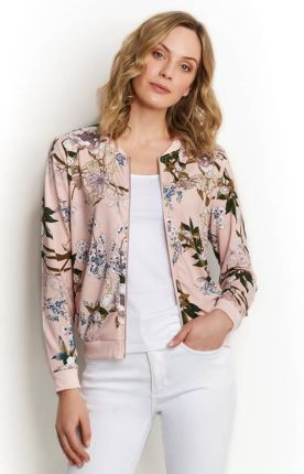 53288a246f24d Happy Holly Kurtka Hanna jacket - przydymiony róż/we wzory cellbes. Marynarka  damska Happy HollyHappy ...