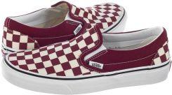 Tenisówki Vans Classic Slip On (Checkerboard) Rumba Red VA38F7VLW1 (VA252 a) Ceny i opinie Ceneo.pl