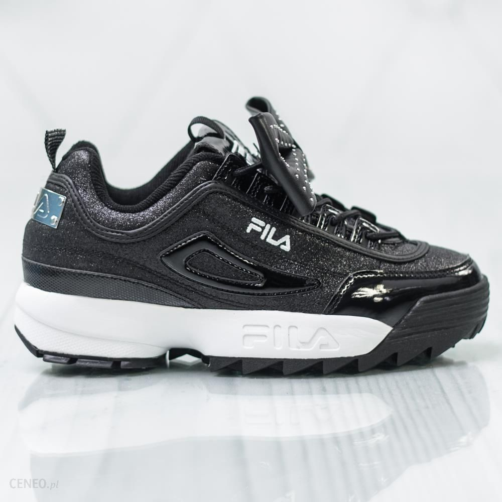 Sneakersy FILA Disruptor Glam Low Wmn 25Y Black