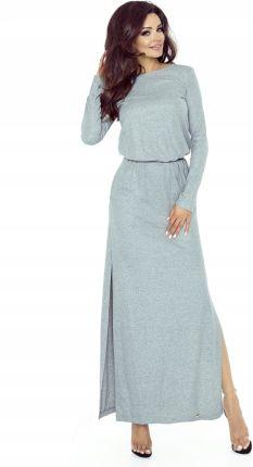 b37883e2c4 Sukienka maxi z koronkowym tyłem M50651 1 s Allegro