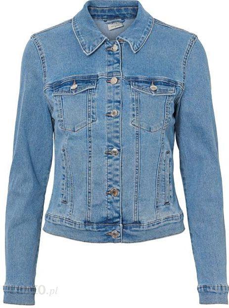 087a7ec140 Kurtka Vero Mix Moda Blue Soja Jacket Light Damska Noos Ls Hot Denim AATq7