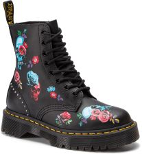 1702d5c9ebf13 Glany DR. MARTENS - 1460 Pascal Bex Rose 24424001 Black/Multi eobuwie
