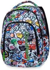 a8d688e5855b8 Patio Coolpack Strike S Plecak Młodzieżowy Led Graffiti (A18201)