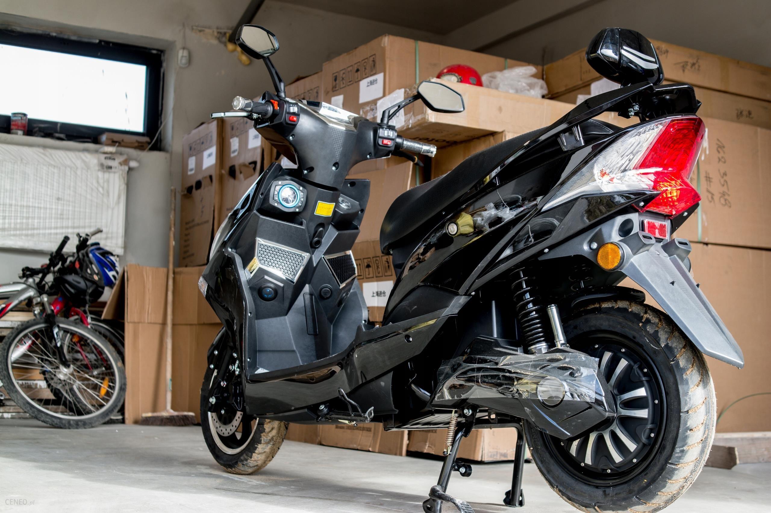 Modernistyczne Skuter elektryczny Hawk 1800W akumulator walizkowy - Opinie i ceny CT75